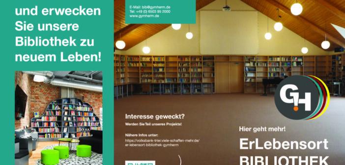(Er)lebensort Bibliothek am GymHerm