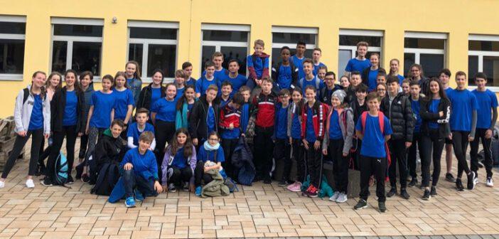 Erfolgreiche Teilnahme des Gymnasiums Hermeskeil an den 15. Trierer SWT-Schullaufmeisterschaft